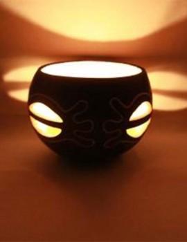 Kalebasse Windlicht Kerzenhalter Adaptability