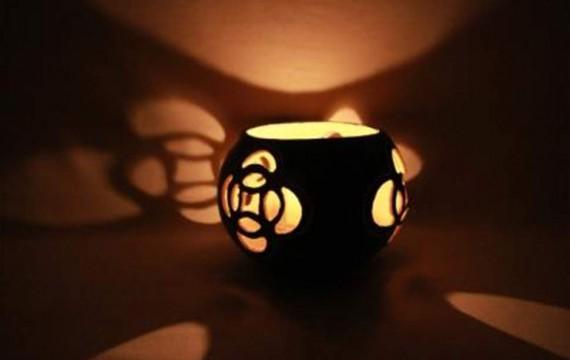 Kalebasse Windlicht Kerzenhalter Extravagance