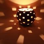 Kalebasse Windlicht Kerzenhalter Rectangles