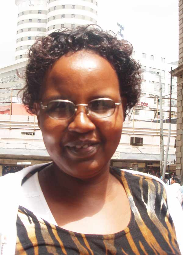 Laura Macharia Koordinatorin Kenia